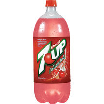 Cherry 7 Up Antioxidant Soda
