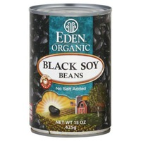 Eden Organic Black Soy Beans, No Salt Added
