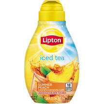Lipton Tea & Honey Summer Peach Liquid Iced Tea Mix
