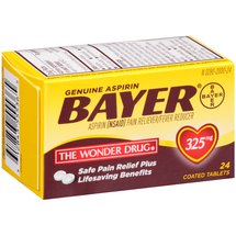 Bayer Genuine Aspirin Pain Reliever/Fever Reducer Coated Tablets