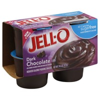 Jell O Ready To Eat Sugar Free Dark Chocolate Reduced Calorie Pudding Snacks
