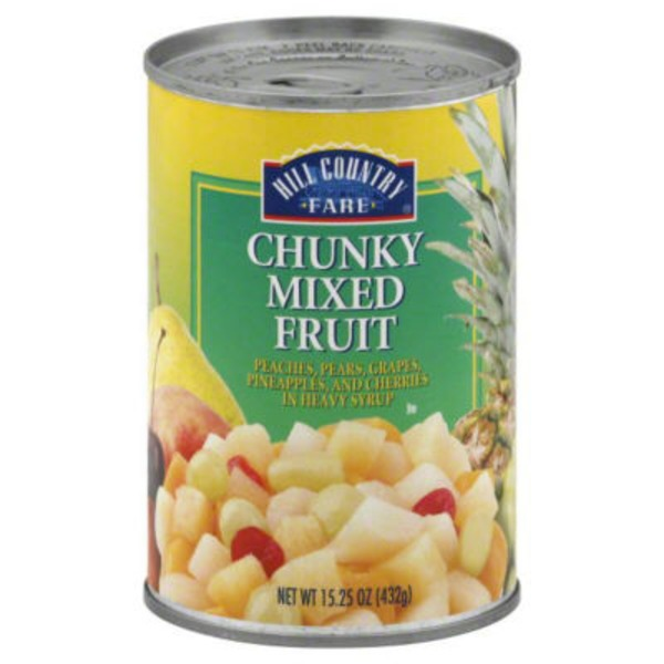 Hill Country Fare Chunky Mixed Fruit