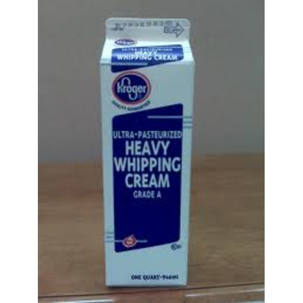 Kroger Ultra Pasteurized Heavy Whipping Cream