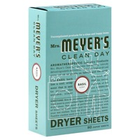 Mrs. Meyer's Basil Dryer Sheets