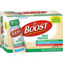 Boost High Protein Vanilla 12 pk