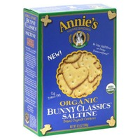 Annie's Homegrown Organic Saltine Baked Cracker Classic Crackers