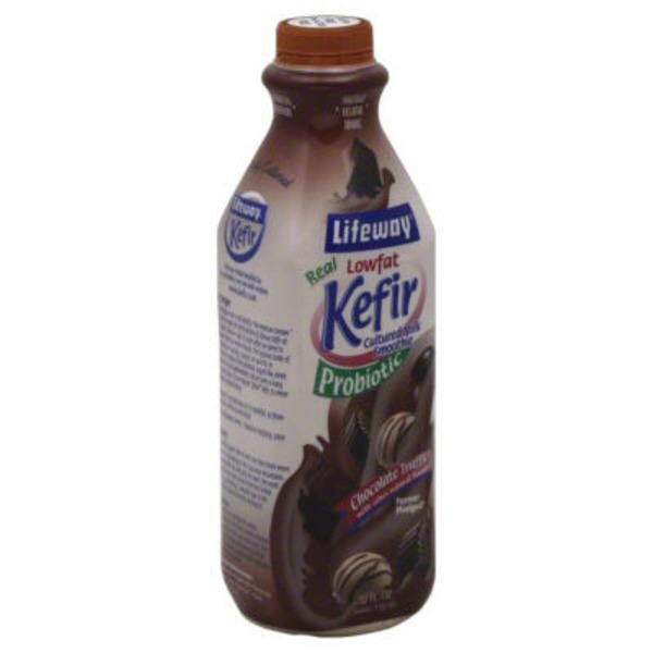 Lifeway Kefir Cultured Lowfat Milk Smoothie Chocolate Truffle