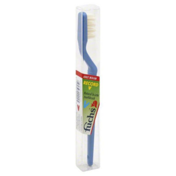 Fuchs Toothbrush, V, Adult Medium, Case