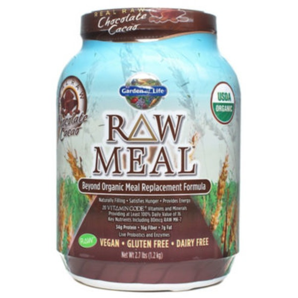 Garden of Life RAW Meal Chocolate Cacao