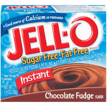 Jell-O Pudding & Pie Filling Instant Chocolate Fudge Sugar Free & Fat Free