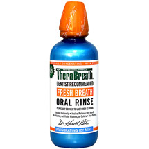 TheraBreath Icy Mint Fresh Breath Oral Rinse
