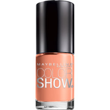 Maybelline Color Show Nail Lacquer Pretty In Peach