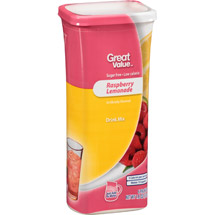 Great Value Raspberry Lemonade Drink Mix