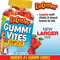 L'il Critters Gummy Vites Complete Multivitamin Gummies Dietary Supplement