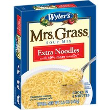 Wyler's Mrs. Grass Extra Noodles Soup Mix