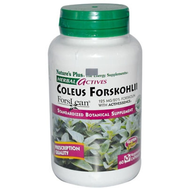 Nature's Plus Coleus Forskohlii Vegetarian Botanical Supplement