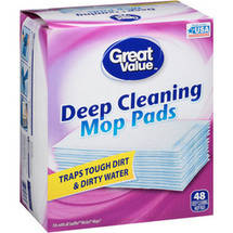 Great Value Deep Cleaning Mop Pads