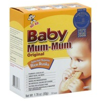 Hot Kid Original Baby Mum-Mum Organic Rice Rusks