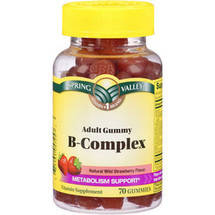 Spring Valley Adult Gummy B-Complex Vitamin Supplement Gummies