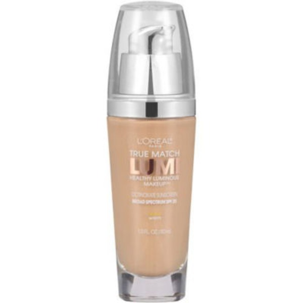 True Match Lumi Warm Nude Beige W3 Healthy Luminous Makeup