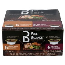 Pure Balance VP Cups Canned Dog Food