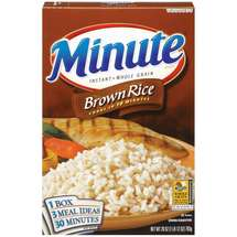 Minute Instant Whole Grain Brown Rice