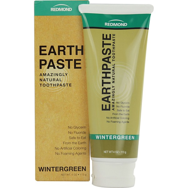Redmond Clay Earthpaste Natural Toothpaste Wintergreen