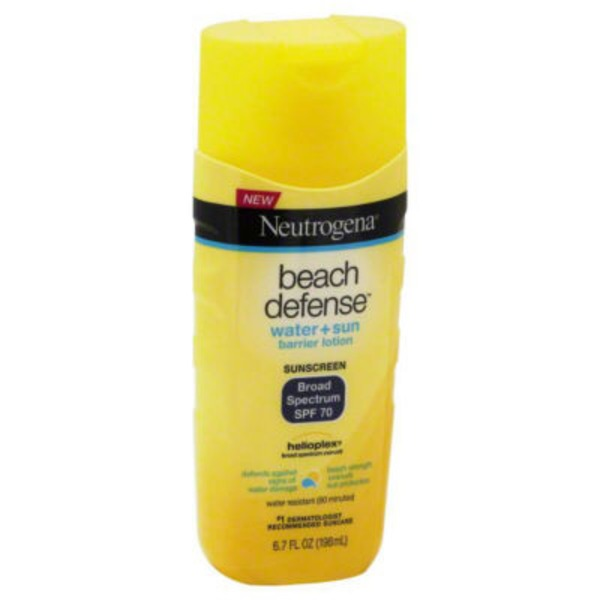 Neutrogena® Lotion Broad Spectrum SPF 70 Sunscreen Beach Defense