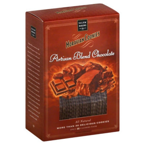 Salem Baking Company Moravian Cookies Artisan Blend Chocolate