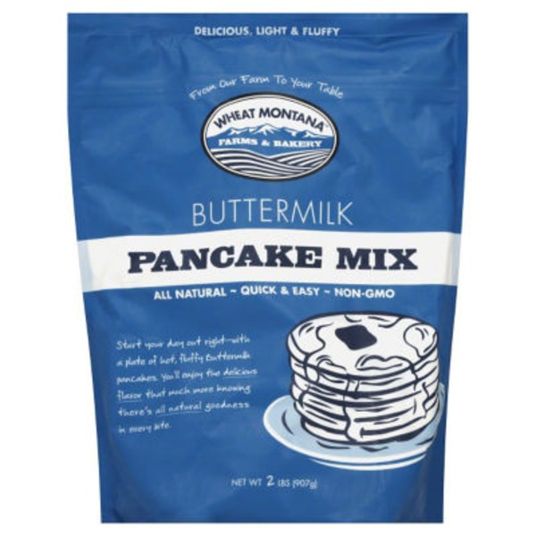 Wheat Montana Buttermilk Pancake Mix