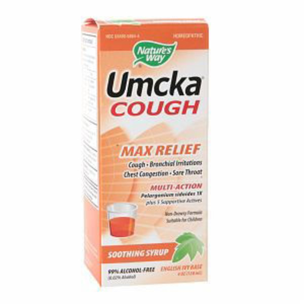 Nature's Way Umcka Cough Max Relief English Ivy Base