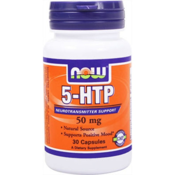 Now 5 Htp 50 Mg Neurotransmitter Support