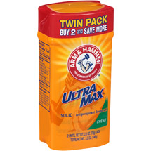 Arm ; Hammer Ultra Max Fresh Solid Antiperspirant Deodorant (Pack of 2)
