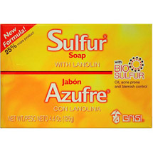 Bio Sulfur Sulfur Soap with Lanolin