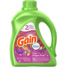 Gain Thai Dragon Fruit Liquid Laundry Detergent with Febreze Freshness
