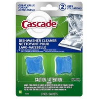 Cascade Dishwasher Cleaner Fresh Scent 2 Count Dish Care