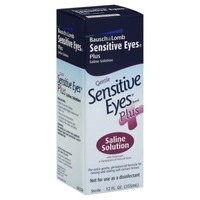 Bausch & Lomb Sensitive Eyes Plus Saline Solution
