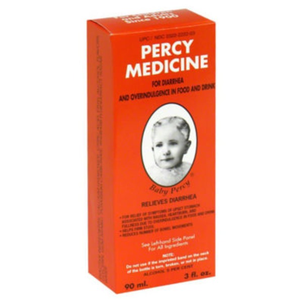 Percy Medicine Relieves Diarrhea