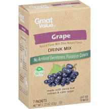 Great Value Grape Drink Mix