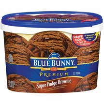 Blue Bunny Frozen Premium Super Fudge Brownie Ice Cream