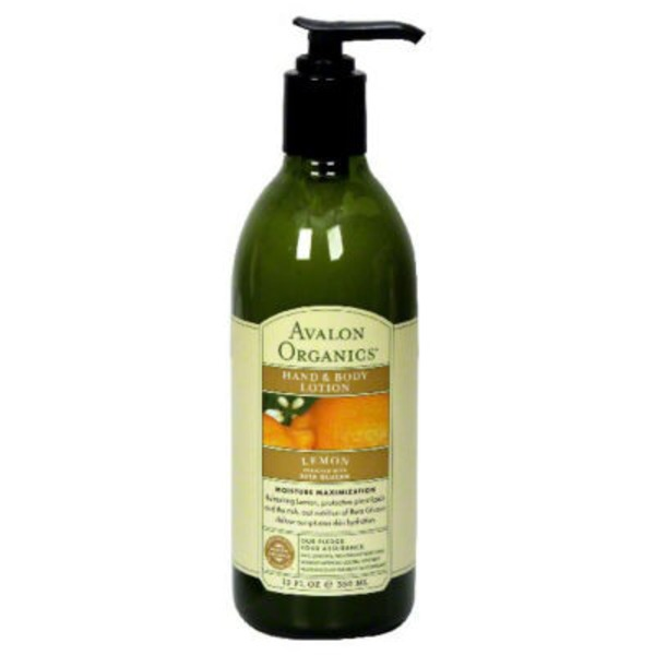 Avalon Organics Lemon Hand & Body Lotion
