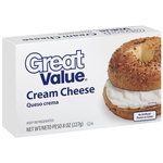 Great Value Cream Cheese