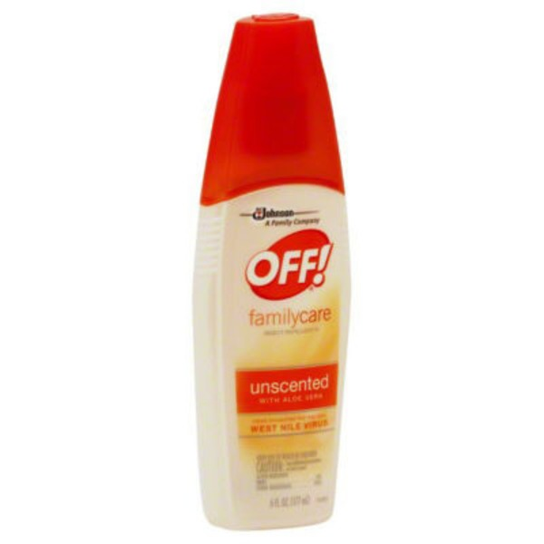 Off! FamilyCare Unscented Insect Repellent