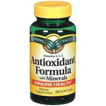 Spring Valley Antioxidant Formula with Minerals Softgels Dietary Supplement