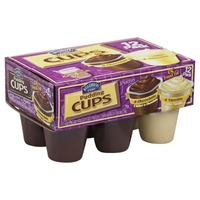 Hill Country Fare 4 Vanilla and 8 Chocolate Pudding Cups