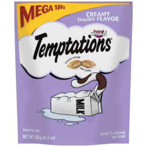 Temptations Whiskas Temptations Creamy Dairy Flavor (PS #5155132) Cat Care & Treats