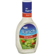 Great Value Ranch Bacon Dressing