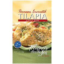 Treasures From The Sea Parmesan Encrusted Tilapia