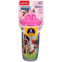 Playtex Playtime DC Super Friends 9-Ounce Insulated Straw Cup