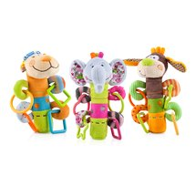 Nuby Squeeze n' Squeak Plush Teether